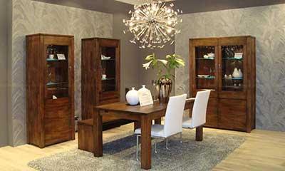 Villa mudare decora o de sala de jantar for Sala de estar rustica y moderna