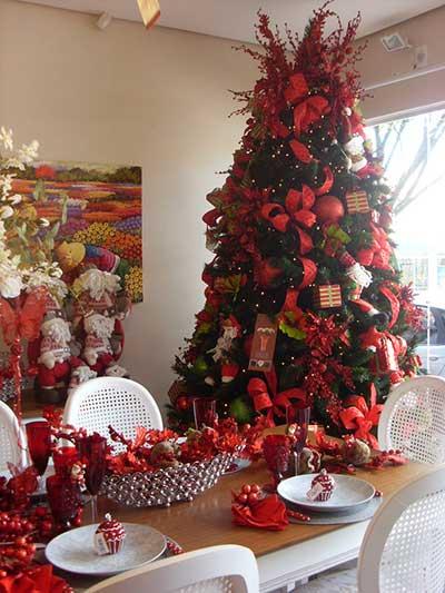 Decoração de Natal para Lojas Pequenas, Simples, Comerciais