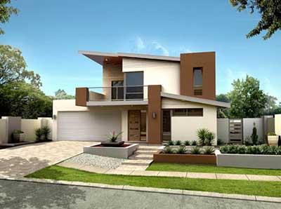 30 casas modernas pequenas grandes ideias decora o for Casas super modernas fotos