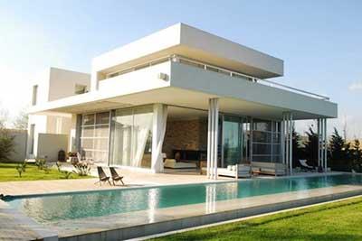 30 casas modernas pequenas grandes ideias decora o for Decoraciones de casas modernas 2016