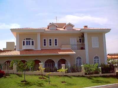 Casas pintadas fotos imagens dicas ideias inspira o for Casas modernas pintadas