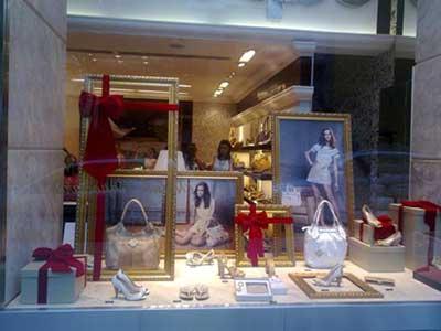 fotos de decoração de loja