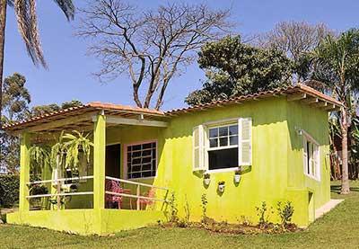 imagens de casas pintadas