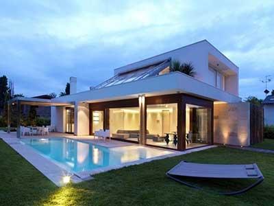 30 casas modernas pequenas grandes ideias decora o - Distribuciones de casas modernas ...