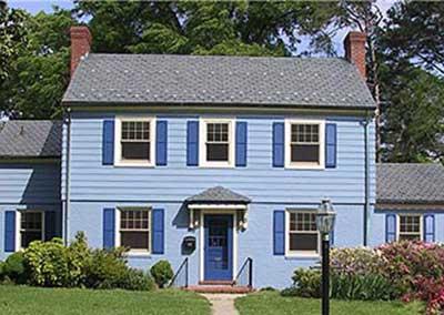 para sua casa azul