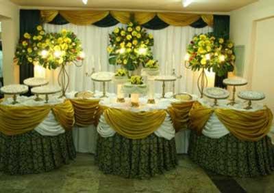 fotos de como decorar festa de casamento
