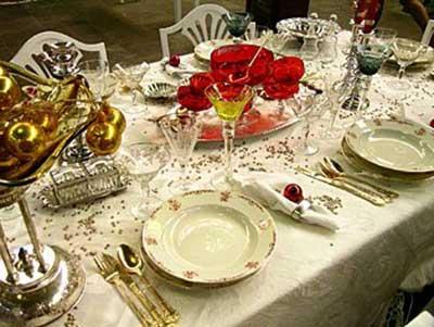 dicas de mesas decoradas de natal