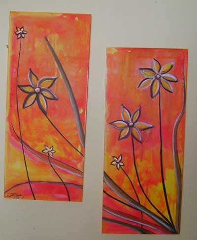 salas decoradas com quadros
