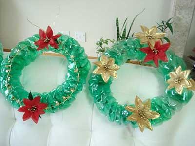 dicas de decoração de natal com artesanato