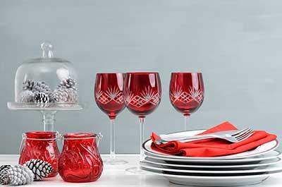decoração de mesas para natal