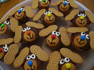 com biscoitos