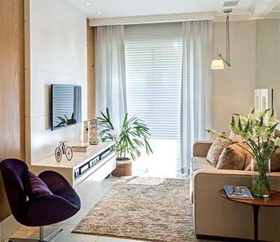 50 dicas de decora o apartamentos pequenos for Acabados para apartamentos pequenos