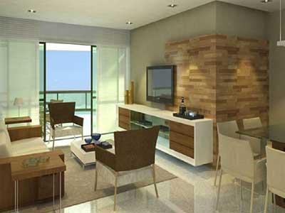 50 dicas de decora o apartamentos pequenos for Diseno de apartamentos de 45m2