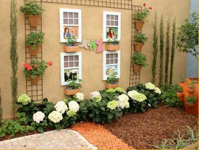 quintais decorados