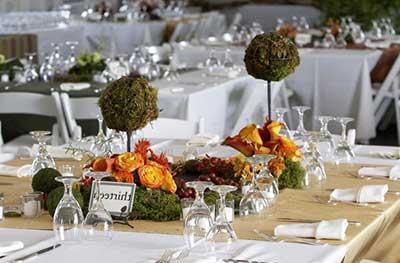 dicas de mesas decoradas de casamento