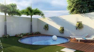 Piscinas altas do chao piscina de fibra para quintal for Piscinas desmontables altas
