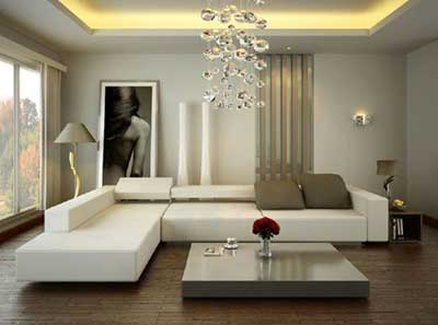 Decora o de salas modernas simples pequenas grandes - Italian inspired living room design ideas ...