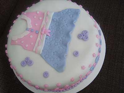 bolos decorados para chá de bebê