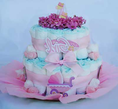 dicas de bolos para chá de bebê