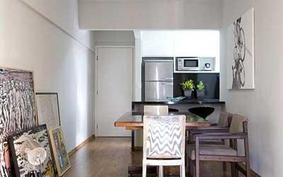 50 dicas de decora o apartamentos pequenos for Como decorar ambientes pequenos
