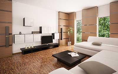 44 papel de parede para salas pequenas grandes modernas for Salas modernas pequenas para apartamentos