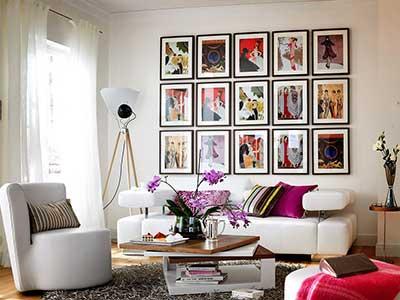 Quadros para salas de jantar e estar pequenas e grandes for Decoracao sala de estar quadros