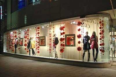 loja decorada