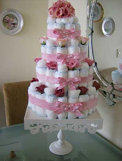bolos decorados para chá