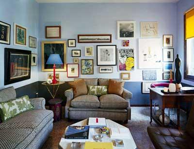 Quadros para salas de jantar e estar pequenas e grandes for Paredes decoradas para salas