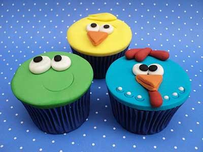 cupcakes para crianças