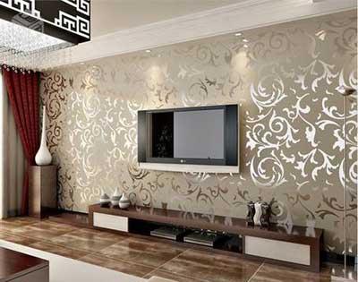 44 papel de parede para salas pequenas grandes modernas for Modelos de sala de casa