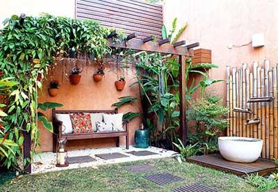 decoração para quintal