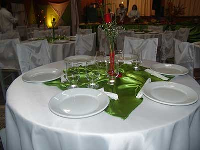 mesas decoradas de casamento