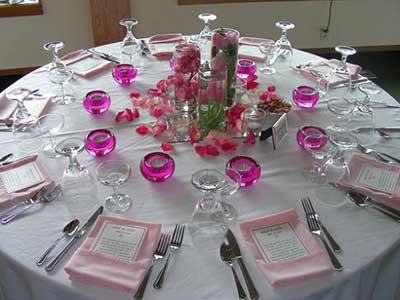 Dicas fant sticas decora o para mesa de casamento - Mesas de navidad decoradas sencillas ...