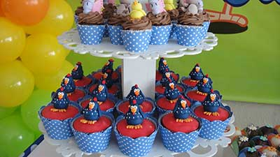 cupcakes infantis