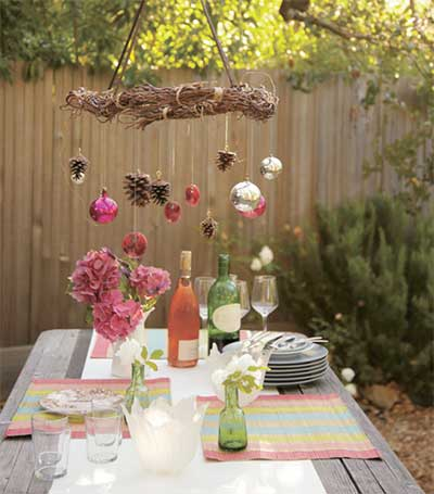Decora o para o quintal pequeno e grande fotos e ideias - Mesas de pared ...