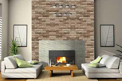 44 papel de parede para salas pequenas grandes modernas for Paredes de cocina decoradas