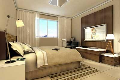 fotos de quartos grandes