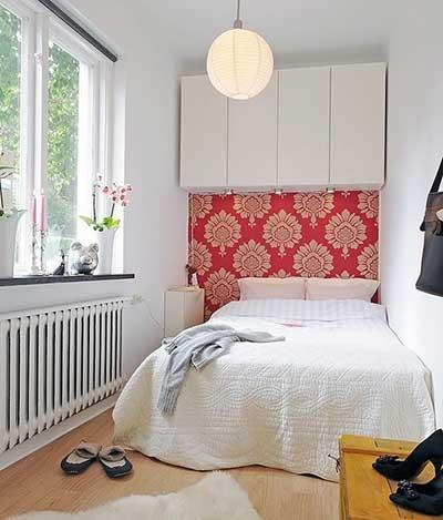 50 dicas de decora o apartamentos pequenos for Diseno de habitacion principal pequena