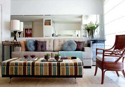 sugestões de apartamentos pequenos decorados