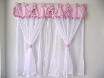Modelos de cortinas para quarto de beb fotos dicas ideias - Modelos de cortinas infantiles ...