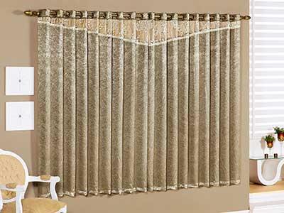 decoração com cortinas para quartos