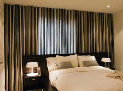 imagens de decoração com cortinas