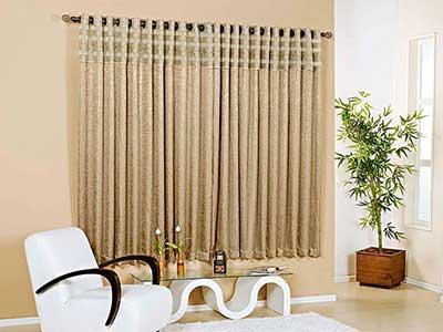fotos de decoração com cortinas