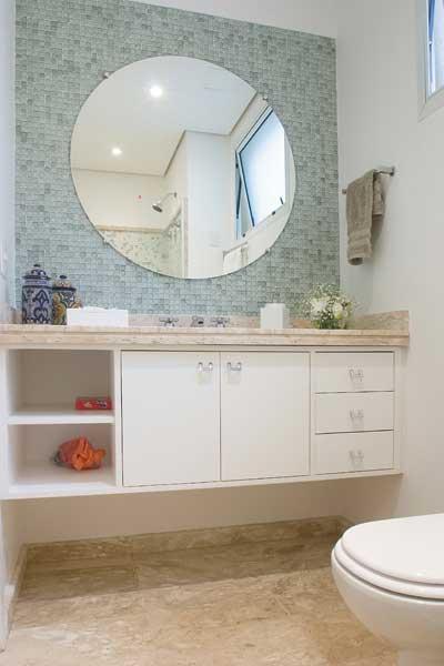 imagens de decoração com espelhos