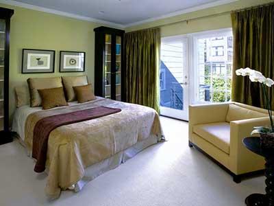 casas com cortinas