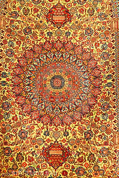 tapetes persas da moda