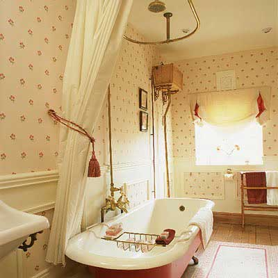 banheiros vintage decorados