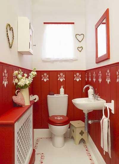 dicas de banheiros vintage