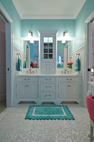 dicas de banheiros vintage decorados